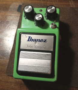 Ibanez Ts9 mod: clipping diodes switch