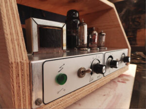 Vintage Bouyer PA converted to guitar amp