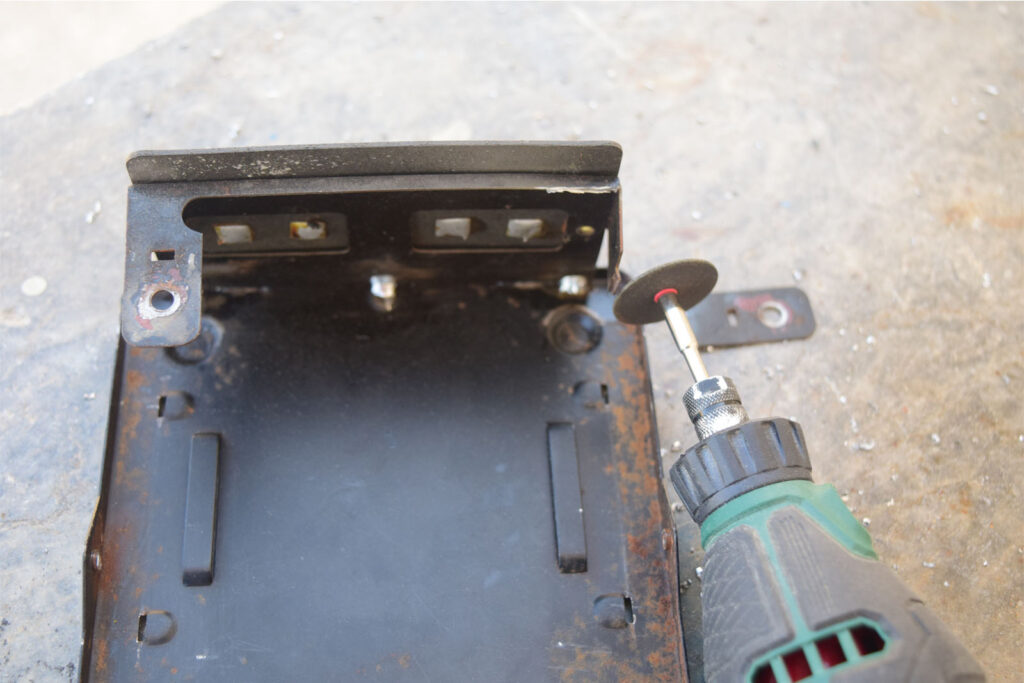Chassis metalwork 5